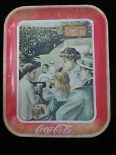 VINTAGE COCA-COLA TRAY WITH PROTECTIVE COATING produced in 1989