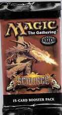 MTG SCOURGE BOOSTER 5 PACK LOT FREE SHIP LOOK FOR STIFLE, SLIVER OVERLORD,