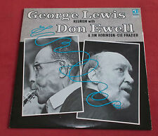 GEORGE LEWIS REUNION DON EWELL JIM ROBINSON LP CANADA DELMARK DS 220