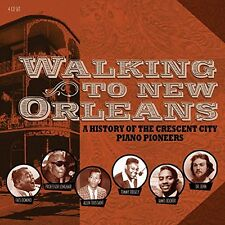 Walking To New Orleans HISTORY OF PIANO PIONEERS Best 100 Songs BOX SET New 4 CD