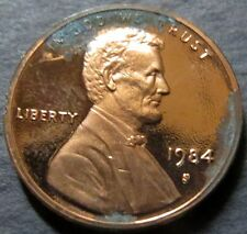"*ERROR COIN, 1984-S  LINCOLN ""PROOF"" CENT, DIE ERRORS San Francisco Mint Coin #A"