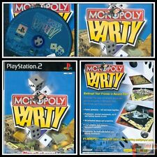 MONOPOLY PARTY JEU CONSOLE PLAYSTATION 2 COMPLET PAL UK
