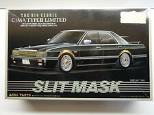 "Aoshima 1/24 Scale Nissan Cedric Cima Type 2 Ltd ""Slit Mask"" Model Kit - New"