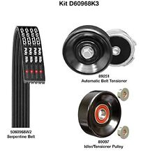 Dayco D60968K3 Serpentine Belt Drive Component Kit