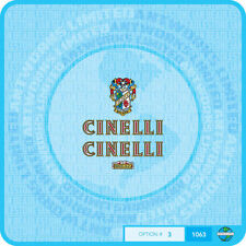 Cinelli Bicycle Decals - Transfers - Stickers - Set 3