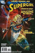 DC Comics 2005 Series SUPERGIRL #20 Near Mint Bagged & Boarded 1st Print NM