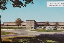 "WEST LAFAYETTE, INDIANA, PURDUE ""X"" MEN'S DORMITORIES, circa 1950s"