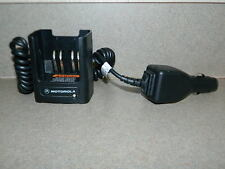 OEM MOTOROLA RLN4884B CAR VEHICLE BATTERY CHARGER XTS MT HT RADIOS (QTY AVAIL)