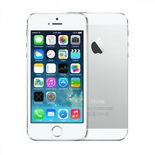 NEW SILVER FACTORY UNLOCKED 32GB APPLE IPHONE 5S TOUCHSCREEN PHONE S127