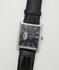 ORIENT Retro Style Automatic Black Leather strap watch CFNAB00 BLACK New w Box