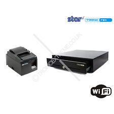 iPad & Android Pos Kit 24V Cash Drawer Star TSP143LAN Ethernet Thermal Printer