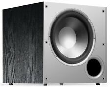 "Polk 10"" Powered Subwoofer Black Bass Amplifier Audio Sound Home Theater Speaker"