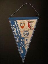 Wimpel 313 1.FC Magdeburg IFC Gegner DDR Oberliga 1988