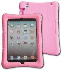 Kid Friendly Protective Silicone Shell Case for iPad mini (Pink)