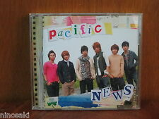 NEWS JOHNNY'S JPOP IDOL CD PACIFIC ALBUM REGULAR ED JAPANESE POP JPN VER