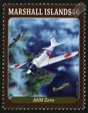 IJN Mitsubishi A6M Zero japonés de la Segunda Guerra Mundial Aviones de combate sello de menta (2013)
