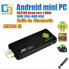 New MK809III Android 5.1Quad Core Mini PC TV Dongle Stick XBMC DLAN WiFi DC Box