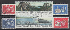 Finland Sc 343/960 used 1956-1995 issues, 3 complete sets, F-VF