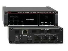 RDL RU-NFD 3x1 Network to Format A Interface/Distributor/Dante/Line Aux