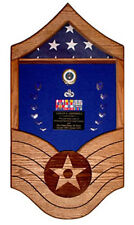 Military Shadow Box - Air Force Master Sergeant