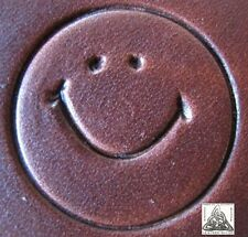 Baron Tools Forrest Gump Smiley Face Leather Working Full Handle Stamping Tool