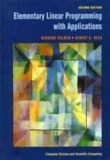 Elementary Linear Programming with Applications, Second Edition (Computer Scie..