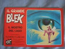 IL GRANDE BLEK 11 1977 IL MOSTRO DEL LAGO EDIZIONI DARDO STRISCIA GIGANTE