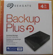Seagate Backup Plus 4TB USB 3.0/2.0 External Hard Drive (STDT4000100)