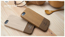 Genius kajsa Wooden Pattern Hard Case Outdoor Collection for iPhone 5S/5