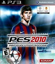 Pro Evolution Soccer 2010 (Sony PlayStation 3, 2009) VERY GOOD