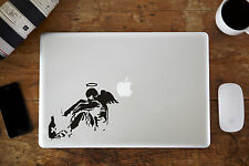 "Banksy Roto Angel MacBook Pegatina Vinilo Para Apple Aire/Pro 12"" 13"" 38.1cm"