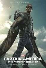 Captain America poster - Falcon poster - 11 x 17 inches - Anthony Mackie poster