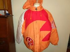 XL VTG Logo Pro Line Tampa Bay Buccaneers Bucs Parka Hooded coat Winter hoodie