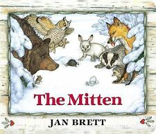 The Mitten: Oversized Board Book by Brett, Jan