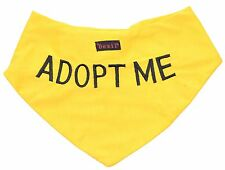 Color Coded ADOPT ME Yellow Dog Bandana Best Personalised Embroidered Message