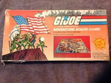 GI JOE Soldier AMERICAN HERO ADVENTURE 1982 BOARD GAME Vintage Edition in BOX