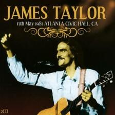 Taylor,James - 13th May 1981 Atlanta,Civic Hall Ca - CD NEU