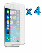 4 x High Quality Crystal Clear Screen Protectors for iPhone 6 Plus 5.5""