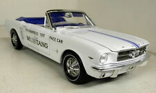 Autoworld 1/18 Scale AW209 1964.5 Ford Mustang Indianapolis 500 Pace Car Model
