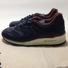 """New Balance [M997BEXP] """"Explore by Sea"""" Horween Leather Men's Sneakers Sz: 6.5"""