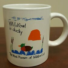 The Ward Museum of Wildfowl Art Coffee Mug Bird Decoy Salisbury Maryland B24