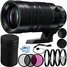 Panasonic Leica DG Vario-Elmar 100-400mm f/4-6.3 ASPH. POWER O.I.S. Lens BUNDLE!