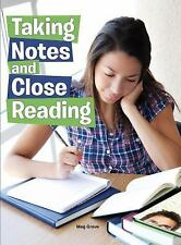 Taking Notes and Close Reading (Hitting the Books: Skills for Reading, Writing,
