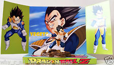 DRAGONBALL Z VEGETA Action Figure on Custom Design Display Diarama Diorama [b]