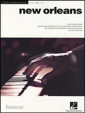 New Orleans Jazz Piano Solos Volumen 21 Piano Libro De Partituras