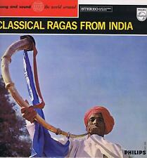 LP CLASSICAL RAGAS FROM INDIA SONG AND SOUND WORLD AROUND PHILIPS
