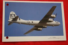 AVIATION- BOEING B 29 SUPERFORTRESS GUY BROCHOT  N°104 CARTE POSTALE