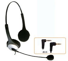 H200 headset with 2.5mm plug for Cisco 7920 7921 7921G 7929 IP & AT&T 992 993
