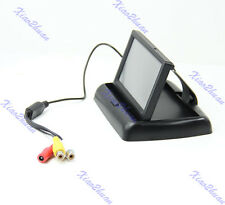 Foldable 4.3 inch TFT LCD Color Car Rear View Monitor Reverse Backup Camera