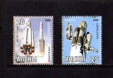 ABKHAZIA - 2009 - SPACE - BURAN - VULCAN - ENERGY - MINT SET!